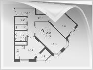 Планировки 40 - 130 м2